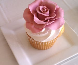 beautiful, cupcake, dessert and frosting