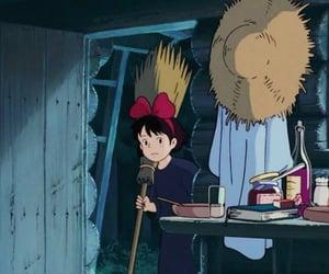 90s, studio ghibli, and anime scenery image