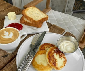 bakery, food, and pancakes image