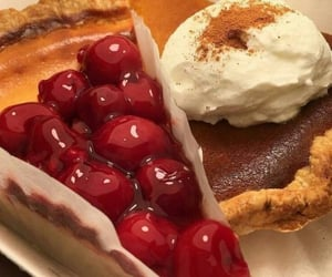 cream, dessert, and delicious image