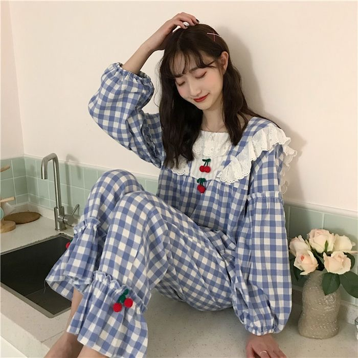 asia, clothes, and gingham image