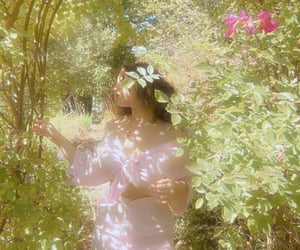 aesthetic, fairy, and flowers image