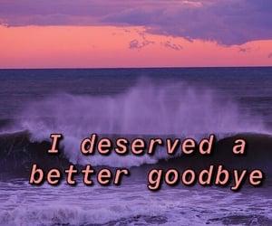 go away, goodbye, and sad image