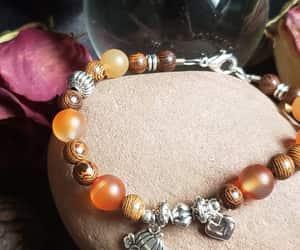 charm bracelet, heart charm, and etsy image