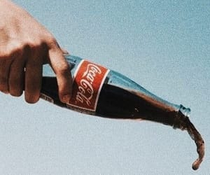 aesthetic, vintage, and coke image