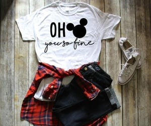 mickey mouse, t-shirt, and mickey image