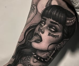 aesthetic, ink, and art image