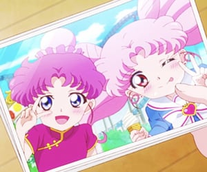 90s, usagi, and anime scenery image