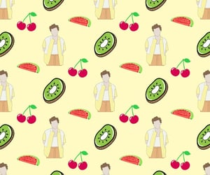 cherry, Harry Styles, and drawings image