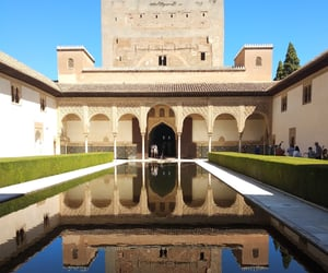 Alhambra, andalucia, and culture image