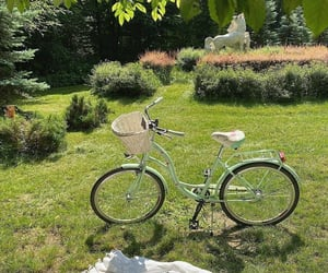 nature, aesthetic, and bike image