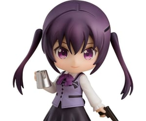 anime, nendoroid, and is the order a rabbit image