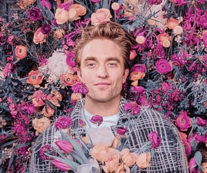 robert pattinson, flowers, and twilight image