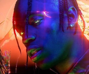 ghetto, astroworld, and cyber punk image