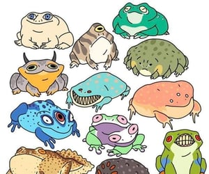 frogs, qties, and frogies image