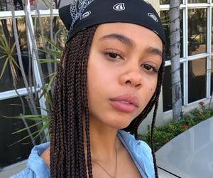 aesthetic, bandana, and black girl image