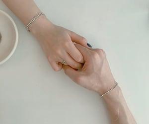 couple, jewellery, and ulzzang couple image