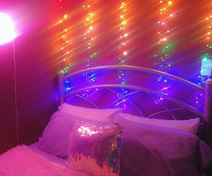 bedroom, colorful, and decor image