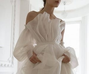 detail, fashion, and bridal couture image