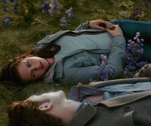 new moon and twilight image