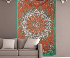 etsy, beach blanket, and indian tapestry image