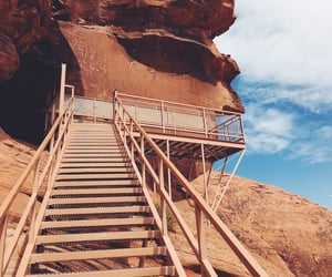 climbing, desert, and explore image