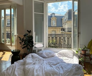 home, bedroom, and paris image