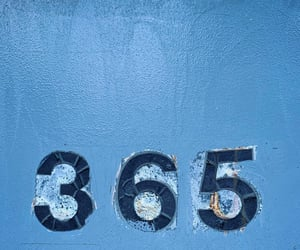 365, blue, and numbers image