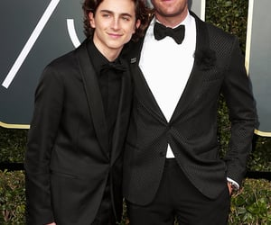 armie hammer, call me by your name, and elio perlman image