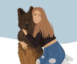 animal, background, and illustration image