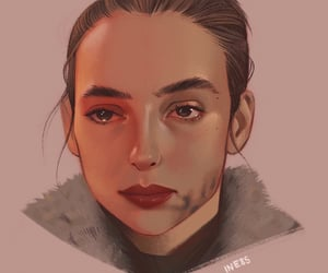 art, killing eve, and jodie comer image