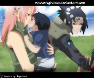 love forever, sasuke uchiha, and sasusaku image