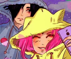 couple, love forever, and sasuke uchiha image