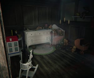 dark, forgotten, and nursery image