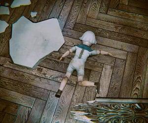 brown, childhood, and debris image