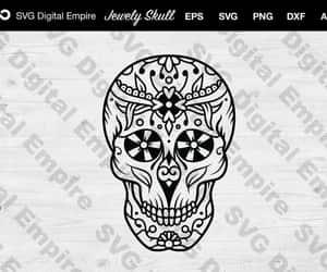 etsy, skull vector, and skull clipart image