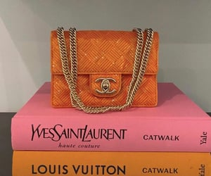bag, clutch, and gold detail image