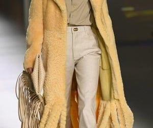 bottega veneta, beige, and fashion show image