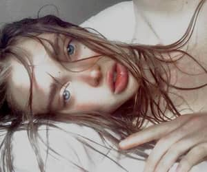 aesthetic, blue eyes, and pale image