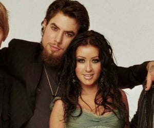 dave navarro, christina aguilera, and red hot chilli peppers image