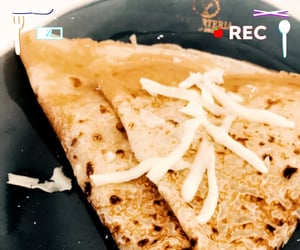 cheese, Chicken, and crepe image