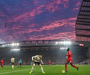 aesthetic, football, and stadium image