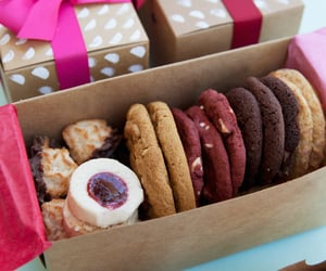 bakery, cookie, and delicious image