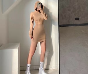 dress, kfashion, and outfit image