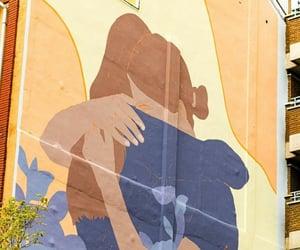amor, graffiti, and pareja image