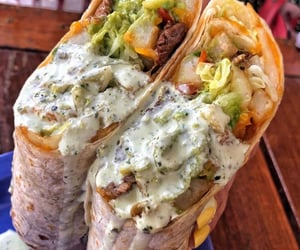 burrito, burritos, and cheese image