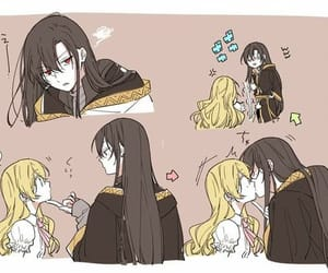 couple, princess, and spoon image