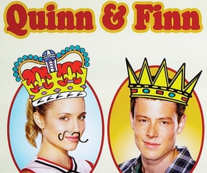 glee, quinn fabray, and Prom image