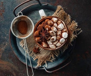 autumn, chocolate, and Cinnamon image