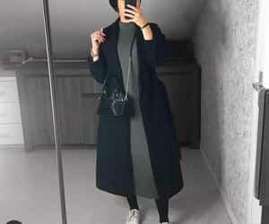 black, Blanc, and dress image